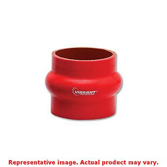 Vibrant Silicone - Hump Hose Couplings 2734R Red 3