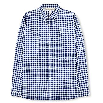 Fabio Giovanni Satriano Shirt - Mens High Quality Italian Poplin Cotton Check Shirt