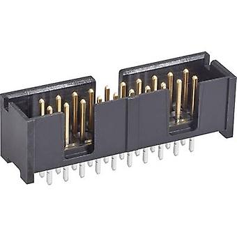 TE Connectivity Pin strip Contact spacing: 2.54 mm Total number of pins: 20 No. of rows: 2 1 pc(s)