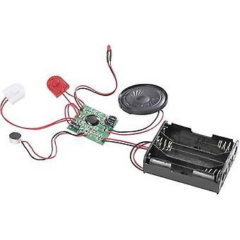 Audio recording unit Component Conrad Components 191410 4.5 Vdc Recording Time 20 s