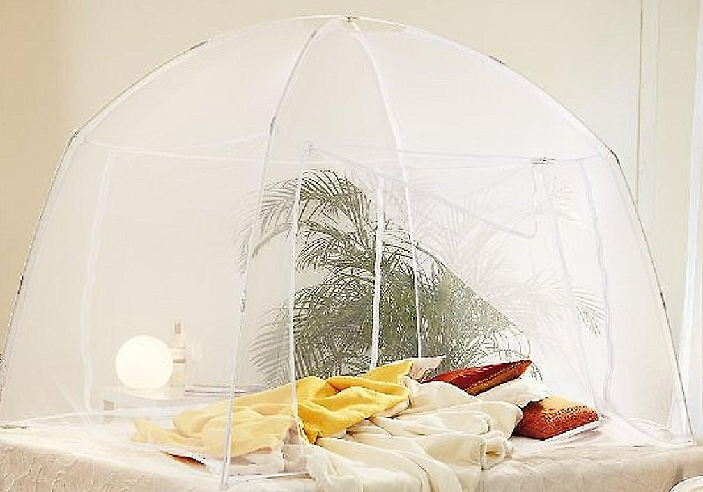 Mosquito net travel mosquito insect repellent mosquito net Mobile white 200 x 150 x 148 cm