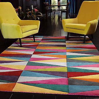 Funk trekanter Multi farvede tæpper