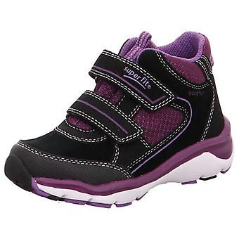 Superfit Girls Sport 5 9239-00 Gore-tex Waterproof Boots Black Purple
