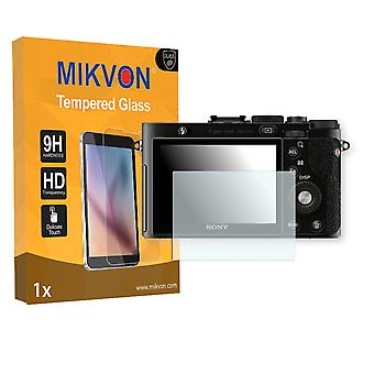 Sony DSC-RX1 Screen Protector - Mikvon flexible Tempered Glass 9H (Retail Package with accessories)