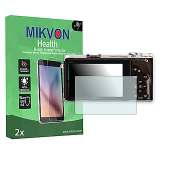 Samsung NX300M Screen Protector - Mikvon Health (Retail Package with accessories)