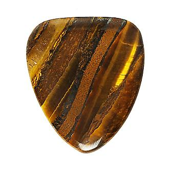 Tiger Tones Banded Tiger Jasper Single Plectrum