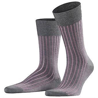 Falke schaduw Midcalf sokken - grijs/Rose Pink