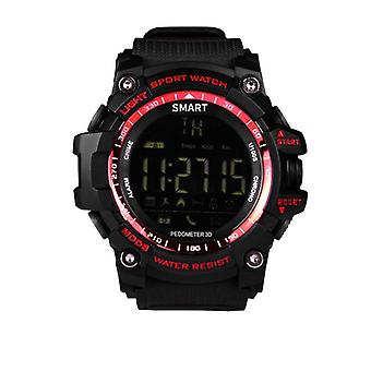 Ex16 sports Durable Smartwatch with long battery life-Red