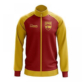 Spanien konceptet fotboll Track Jacket (röd)