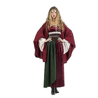 Cape de costume à la dame médiévale cap Cap moyen age Mesdames costume veste rouge