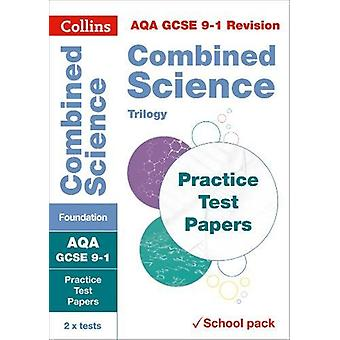 AQA GCSE Combined Science Foundation Practice Test Papers (Collins GC