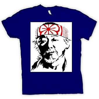 Womens T-shirt - Karate Kid Herr Miyagi - Portrait