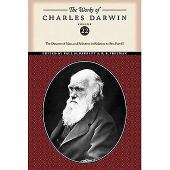 Las obras de Charles Darwin: el origen del hombre y selección en lo referente a sexo PT. 2