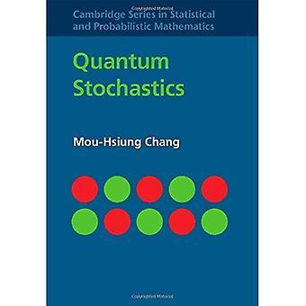 Stochastics kwantowej (serie Cambridge w statystycznych i probabilistyczne matematyki)
