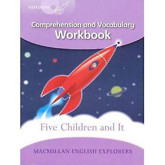 Entdecker-Stufe 5: Fünf Kinder und es: Verständnis und Wortschatz Arbeitsmappe