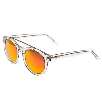 Bertha Ava Polarized Sunglasses - Clear/Rose Gold
