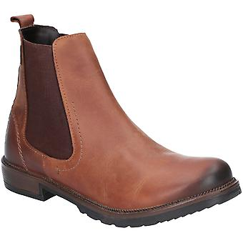 Cotswold Womens Eastcombe Slip On Leather Ankle Boot