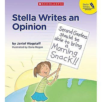 Stella Writes an Opinion