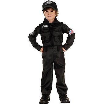 Swat Policeman Toddler Costume