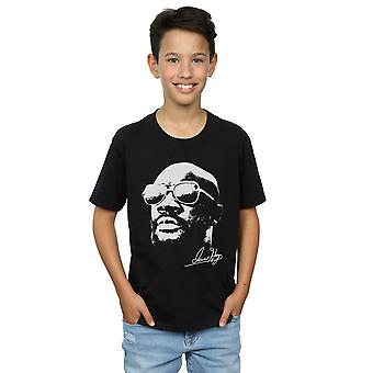 Isaac Hayes Boys Cool White T-Shirt