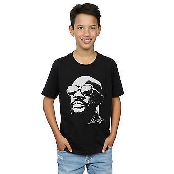 Isaac Hayes chicos Cool camiseta blanca