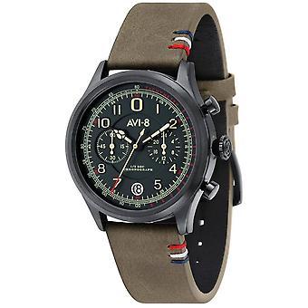 AVI-8 Fly Boy Watch - Green/Dark Green