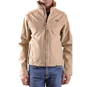 Napapijri Beige Cotton Outerwear Jacket