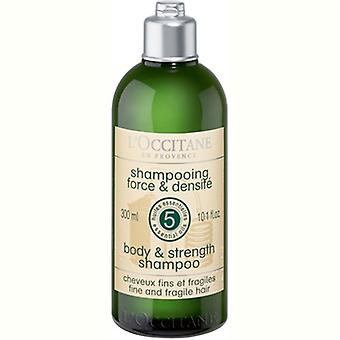 L'Occitane Body & Strength Shampoo 10.1oz / 300ml