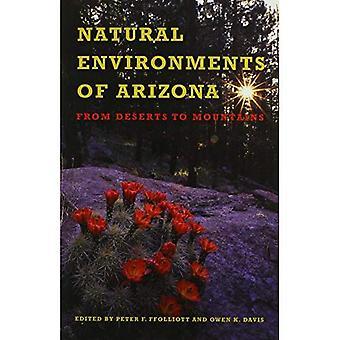 Les milieux naturels de l'Arizona: du désert aux montagnes