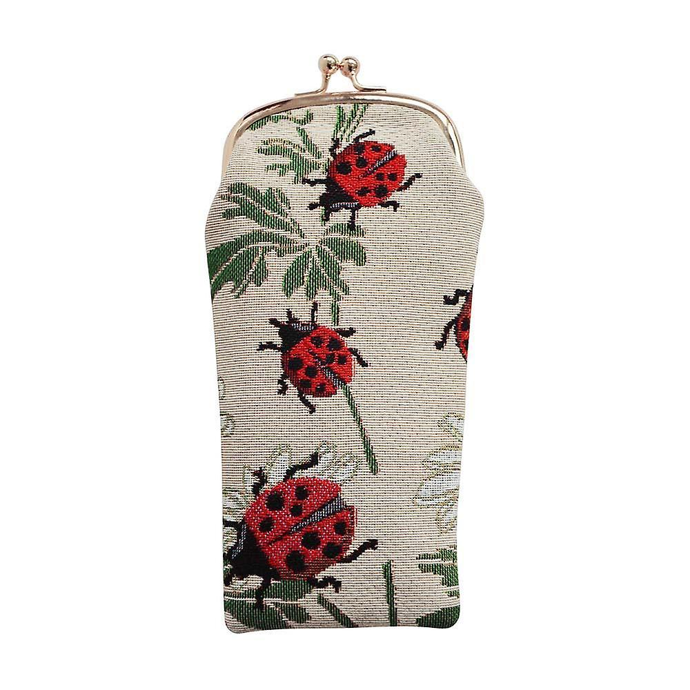 Ladybird glasses pouch by signare tapestry / gpch-ldbd