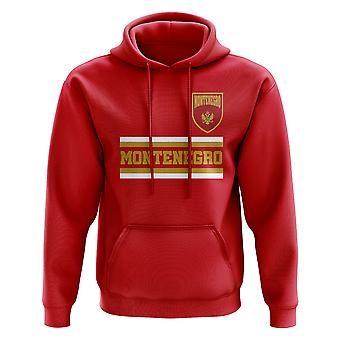 Montenegro Core Football Country Hoody (Red)
