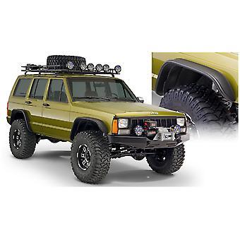 Bushwacker 10922-07 FF Jeep Flat Sty 2Pc