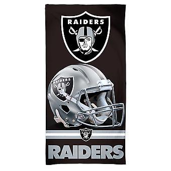 Wincraft NFL Oakland Raiders 3D Beach Towel 150x75cm