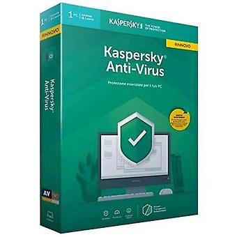 Kaspersky antivirus 2019 license for 1 device for 1 year version-renewal (english)