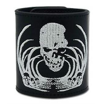 Wristband - Death Note - New Skull Embroidery Leather Anime Licensed ge8170