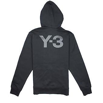 Y-3 Hooded Zip Up Black Noir