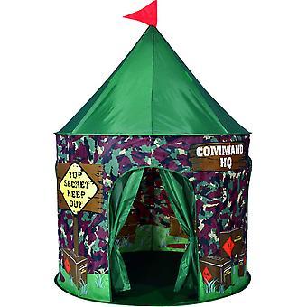 Spirit of Air Kids Kingdom Pop Up Command HQ Play Tent