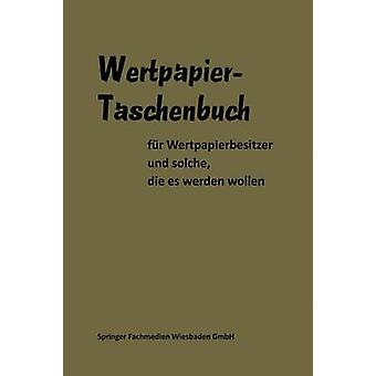 Wertpapier Taschenbuch by Gabler & Gable
