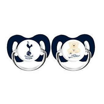Tottenham Hotspur FC Official Baby Soothers (2 Pack)