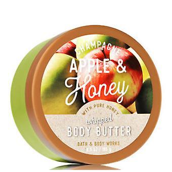 Bain et corps travaille Champagne Pomme et miel fouetté Body Butter 6,5 oz / 185 g