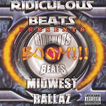 Ridiculous Beats Presents - Boom!!! Midwest Ballaz [CD] USA import