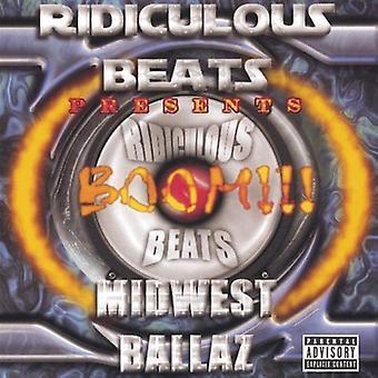 Latterlig Beats presenterer - Boom! Midtvesten Ballaz [DVD] USA import