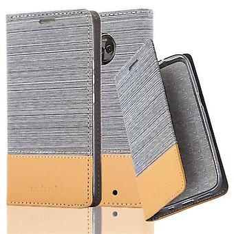 Cadorabo tapa uksessa Motorola MOTO X4 tapa uksessa Cover-puhelimen kotelo magneettisella Sulkemilla, stand-toiminto ja kortti kotelon lokero-kotelo kotelo kotelo kotelo tapa uksessa kirja taitto tyyli