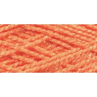 Needloft Craft Yarn 20 Yard Card Bright Orange 510 58