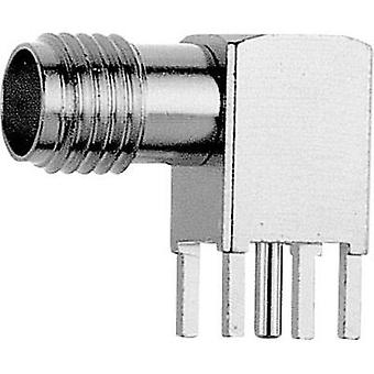 SMA connector Socket, horizontal mount 50 Ω Telegärtner J01151A0198 1 pc(s)