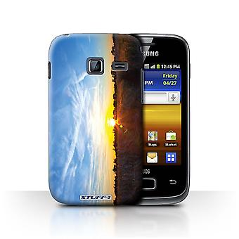 STUFF4 Case/Cover for Samsung Galaxy Y Duos/S6102/Blue Sky/Sunset Scenery