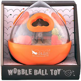 P.L.A.Y. Wobble Ball Toy-Orange 7040CUF