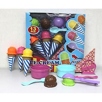 Dimasa Ice Cream Fun (Toys , Home And Professions , House , Food)
