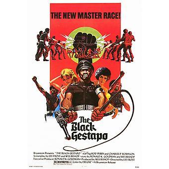 The Black Gestapo Movie Poster Print (27 x 40)