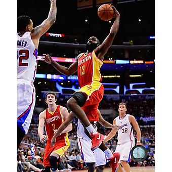 James Harden 2013-14 Action Photo Print